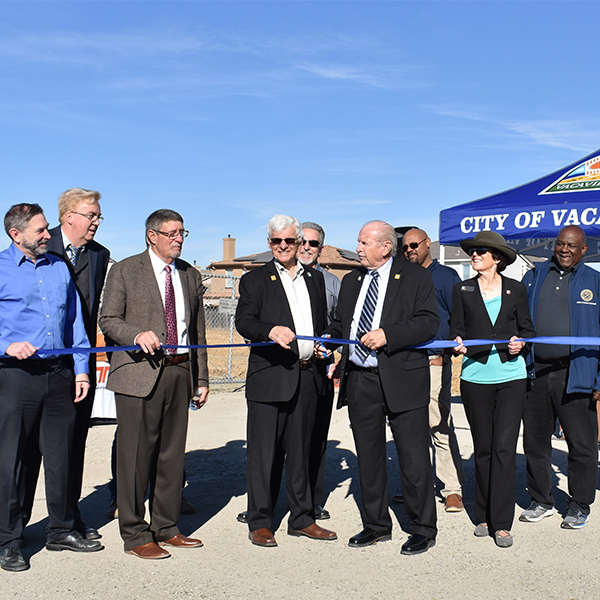 Vacaville Jepson Parkway Ribbon Cutting Ceremony - Solano