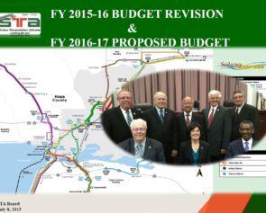 FY 2015-16 & FY 2016-17 Budget Presentation