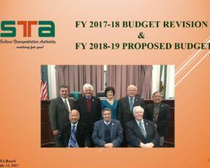 FY 2017-18 & FY 2018-19 Budget Presentation