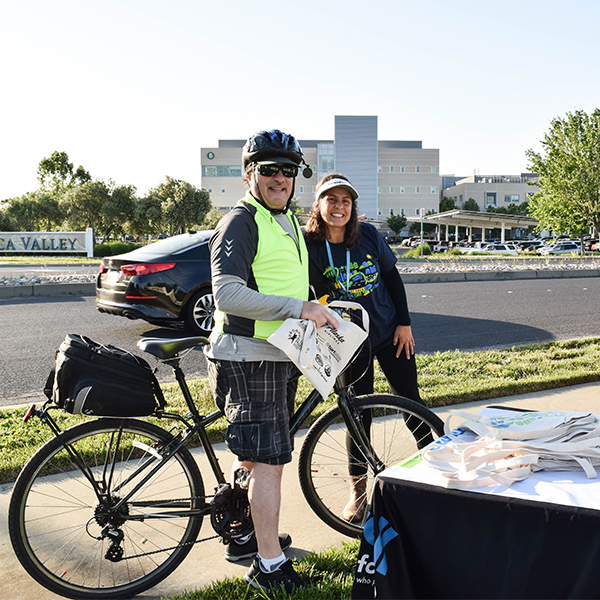 Bike to Work Day at Vacaville Kaiser